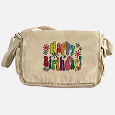 Happy Birthday Messenger Bag