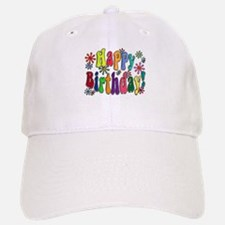 Happy Birthday Baseball Baseball Cap