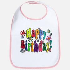 Happy Birthday Bib