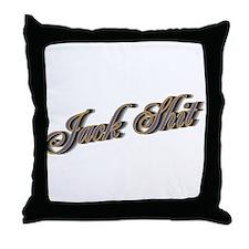 Jack Shit Throw Pillow