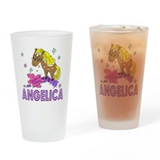 I Dream Of Ponies Angelica Drinking Glass