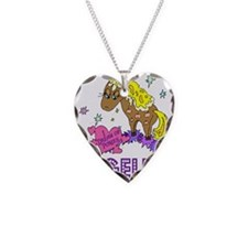 I Dream Of Ponies Angelica Necklace Heart Charm