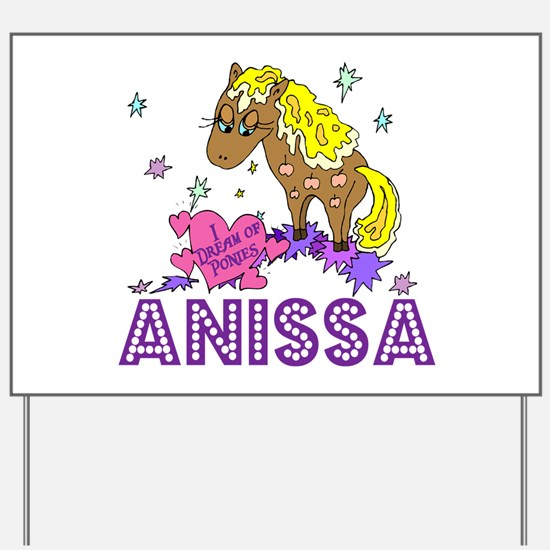 I Dream Of Ponies Anissa Yard Sign