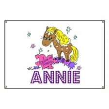 I Dream Of Ponies Annie Banner