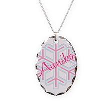 Annika Snowflake Personalized Necklace