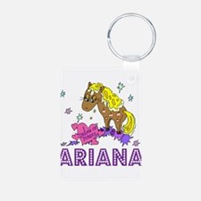 I Dream Of Ponies Ariana Keychains