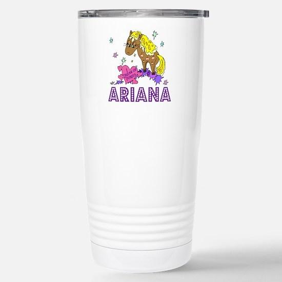 I Dream Of Ponies Ariana Stainless Steel Travel Mu
