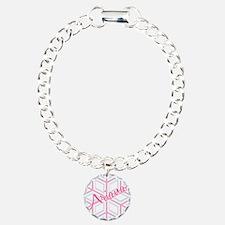 Ariana Snowflake Personalized Bracelet
