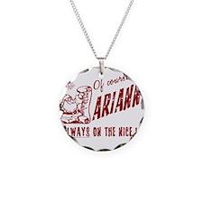 Nice List Arianna Christmas Necklace