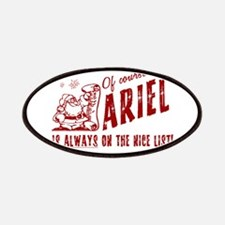Nice List Ariel Christmas Patches