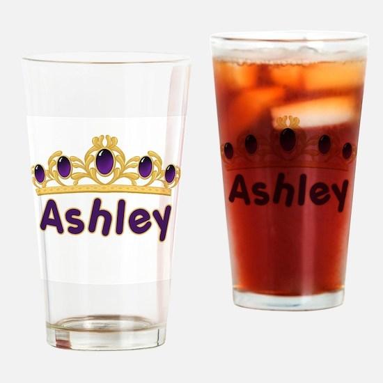 Princess Tiara Ashley Persona Drinking Glass