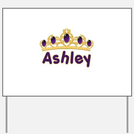 Princess Tiara Ashley Persona Yard Sign
