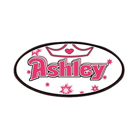 Ashley Princess Crown Star Patches