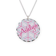 Ashlyn Snowflake Personalized Necklace