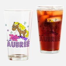 I Dream Of Ponies Aubree Drinking Glass