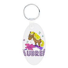 I Dream Of Ponies Aubree Keychains