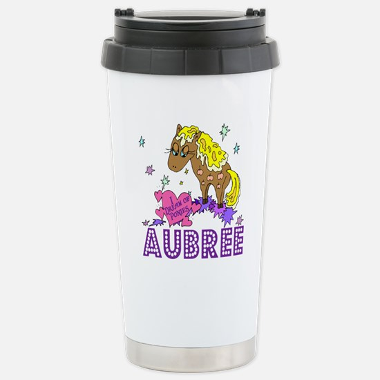 I Dream Of Ponies Aubree Stainless Steel Travel Mu