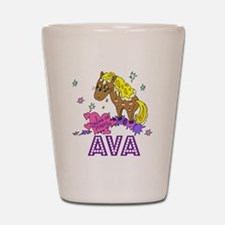 I Dream Of Ponies Ava Shot Glass