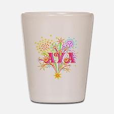 Sparkle Celebration Ava Shot Glass