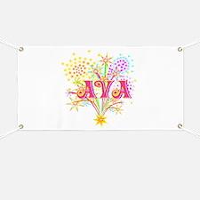Sparkle Celebration Ava Banner