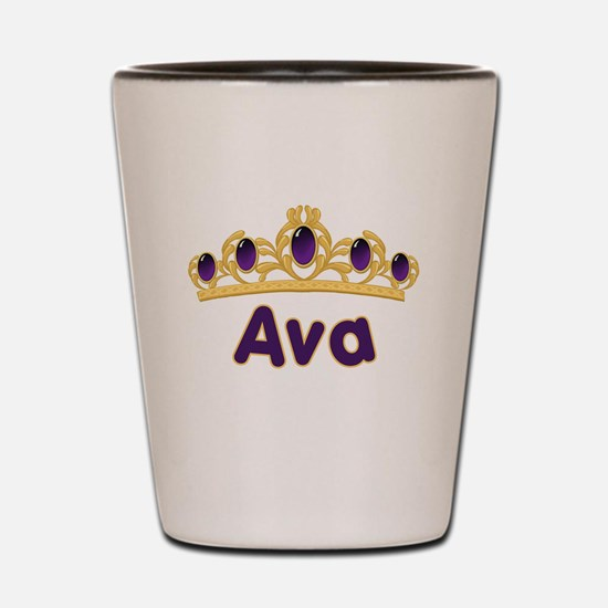 Princess Tiara Ava Personaliz Shot Glass