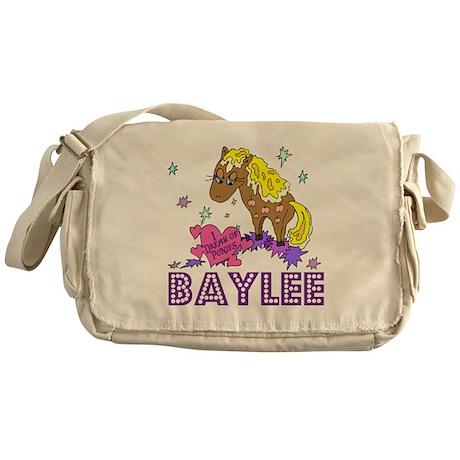 I Dream of Ponies Baylee Messenger Bag