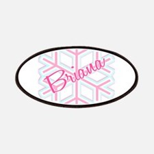 Briana Snowflake Personalized Patches