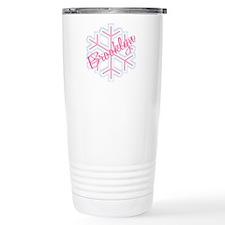 Brooklyn Snowflake Personaliz Travel Mug