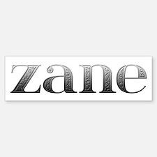 Zane Carved Metal Bumper Bumper Bumper Sticker