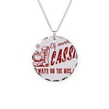 Nice List Cassie Christmas Necklace