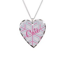 Cate Snowflake Personalized Necklace