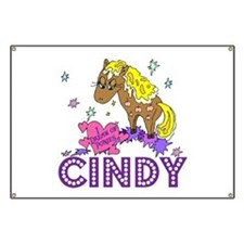 I Dream Of Ponies Cindy Banner