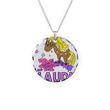 I Dream Of Ponies Claudia Necklace Circle Charm