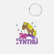 I Dream Of Ponies Cynthia Keychains