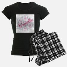 Danielle Snowflake Personaliz Pajamas