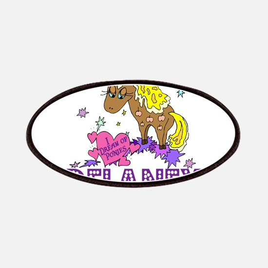 I Dream Of Ponies Delaney Patches