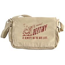Nice List Destiny Christmas Messenger Bag