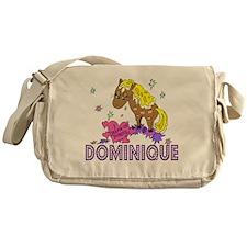 I Dream Of Ponies Dominique Messenger Bag