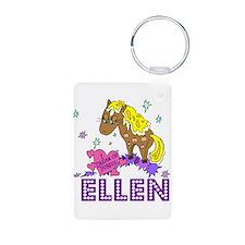 I Dream Of Ponies Ellen Keychains