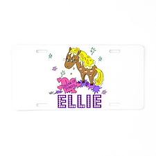 I Dream Of Ponies Ellie Aluminum License Plate