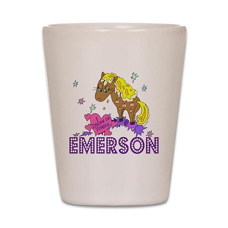I Dream Of Ponies Emerson Shot Glass