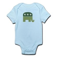 Green Republican Infant Bodysuit