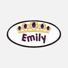Princess Tiara Emily Personal Patches