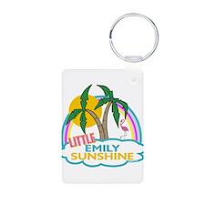 Island Girl Emily Personalize Keychains