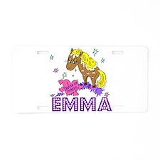 I Dream Of Ponies Emma Aluminum License Plate