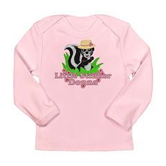 Little Stinker Donna Long Sleeve Infant T-Shirt