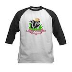 Little Stinker Donna Kids Baseball Jersey