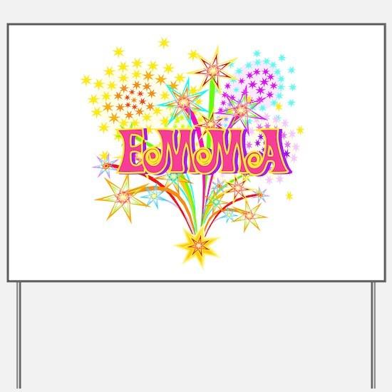 Sparkle Celebration Emma Yard Sign