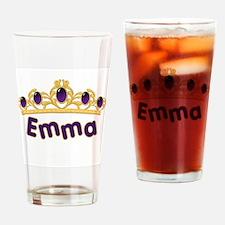 Princess Tiara Emma Personali Drinking Glass