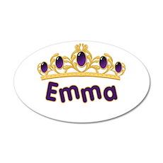Princess Tiara Emma Personali 38.5 x 24.5 Oval Wal